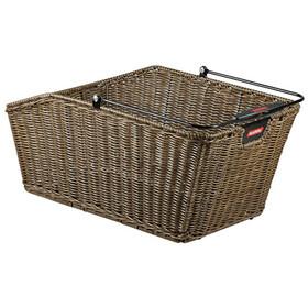 KlickFix Structura GT Bike Basket With basket clip brown